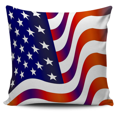 Waving Flag Pillow Cover