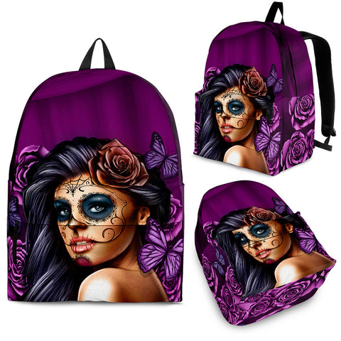 Backpack - Violet Calavera