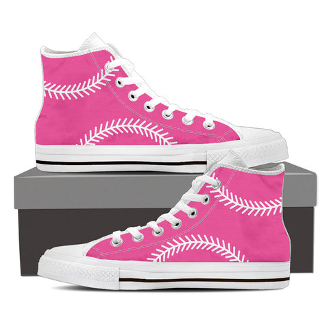 Softball Pink Ladies HighTop