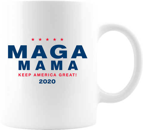 MAGA White Coffee Mug 11oz