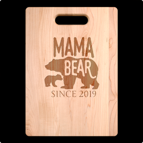 Mama Bear Cutting Board