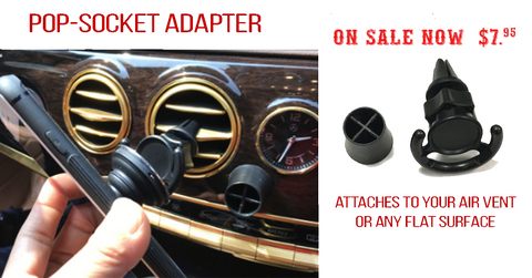 Adapter -  Pop-up Grip Holder