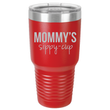 Polar Camel - 30 oz Ringneck Tumbler {Laser Etched No Colored Art} Mommy's Sippy-Cup