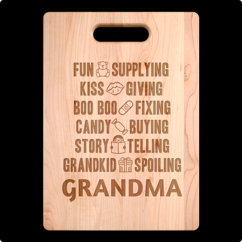 Spoiling Grandma Cutting Board