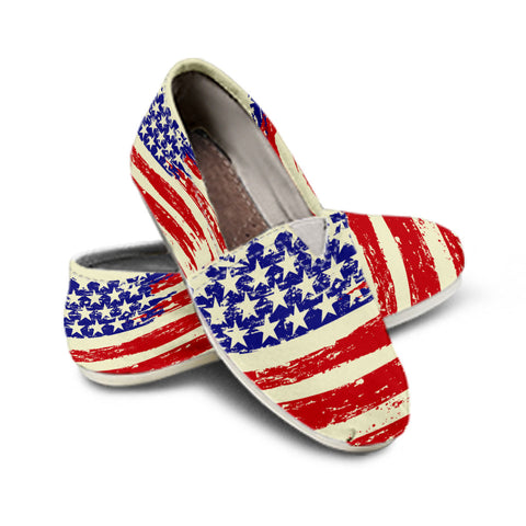 America Patriotic Casual Shoes