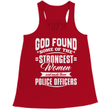 Limited Edition - God Found Some Of The Strongest Women and Made Them Police Officers (Navy)
