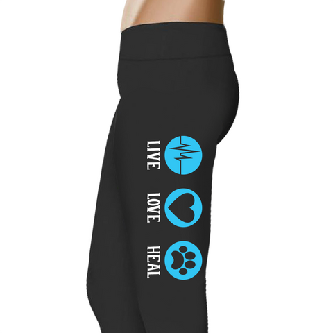 Live Love Heal - Women's Ukiyo™ Leggings - Full Length