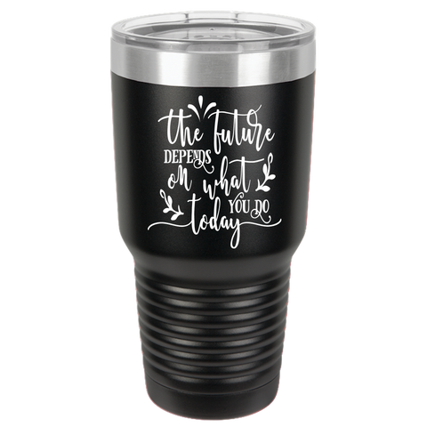 The Future Depends Polar Camel 30oz Ringneck Tumbler