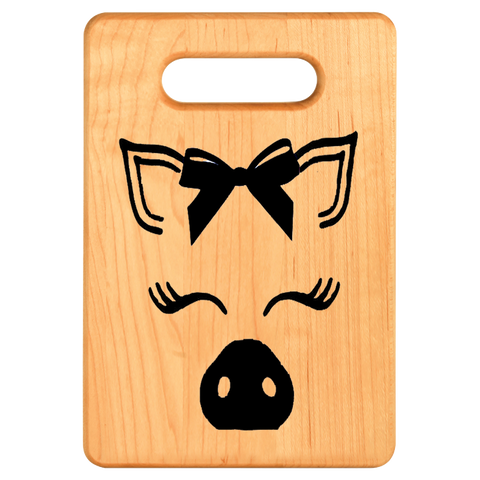 Cutting Board - Maple - Pig Out