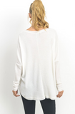 IVORY BASIC LONG SLEEVE