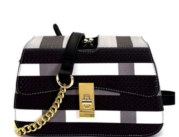 CHECKER PLAID HANDBAG