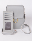 GREY CIRCLE CROSSBODY