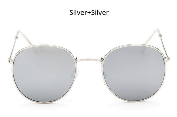 Superstar Vintage Original Clear Round Glasses Frame Retro  Women Men Circle Sunglasses