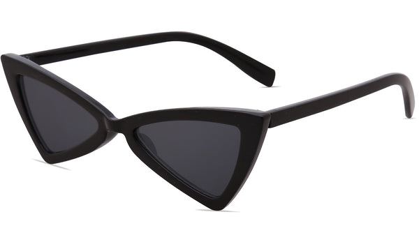Small Cateye Sunglasses for Women Men High Pointed Triangle Glasses SJ2051