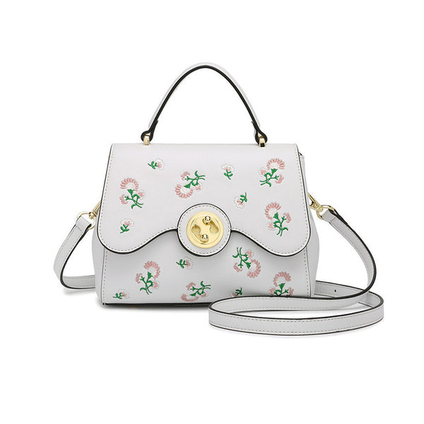 J&J Cute Embroider Crossbody Handbag