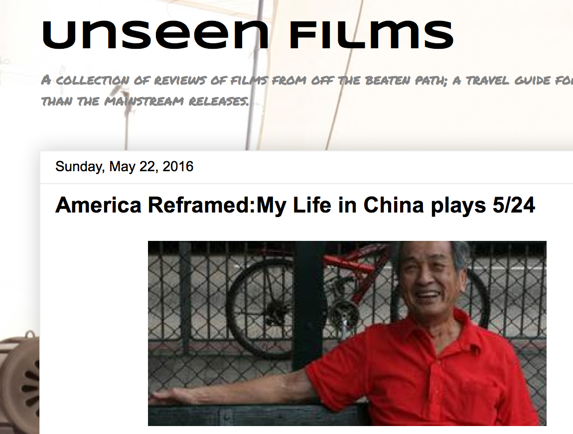 My Life in China reviewed by Unseen Films