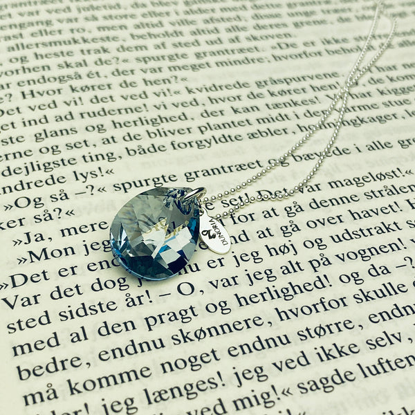Crystal pendant dråbe