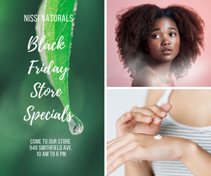 BLACK FRIDAY AND SMALL BUSINESS SATURDAY SPECIALS