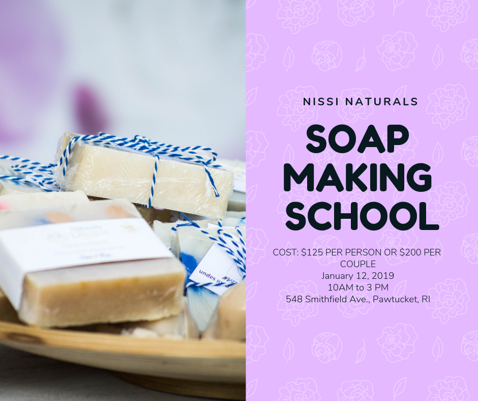 NISSI NATURALS SOAP MAKING SCHOOL