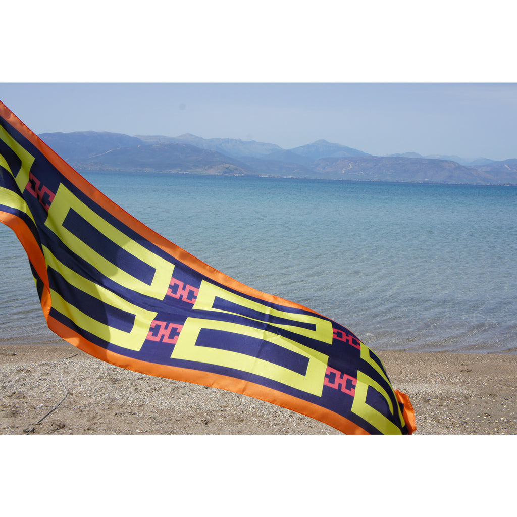 magnadi scarves greek silk scarves greek design summer collection ancient greek inspiration