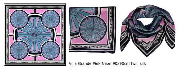 magnadi scarves british vogue silk scarves made in greece