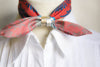 amorgos silk choker pocket size silk scarf made in greece gift for her