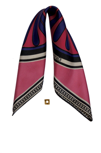 magnadi greek silk scarves colors digital printed little silk scarf