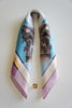 a contemporary design greek silk scarf classic and chic gift for her