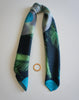 hercules greek print silk twill scarf made in greece magnadi scarves collection
