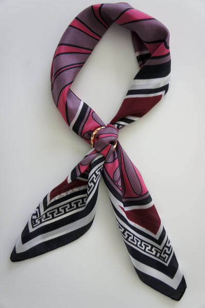 magnadi scarves contemporary designs greek prints made in greece silk scarves winter colours