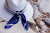 greek silk scarf aegean blue greek islands magnadi scarves greek design