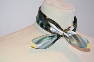 silk choker pocket size silk scarf made in greece magnadi scarves gift for her
