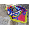 magnadi scarves Greek silk Greek designs summer prints