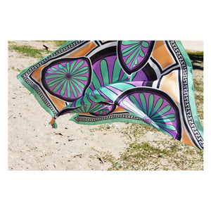 MagnaDi scarves Greek silk scarves made in Greece summer print