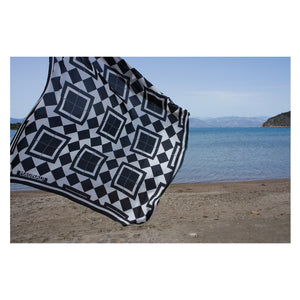 magnadi scarves Greek silk scarves designed by Margianna Dragoumanou contemporary Greek design island art