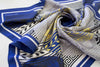 greek motifs traditional silk scarf digital print magnadi scarves