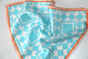 ISLAND TILE - Pocket Square Silk Scarf