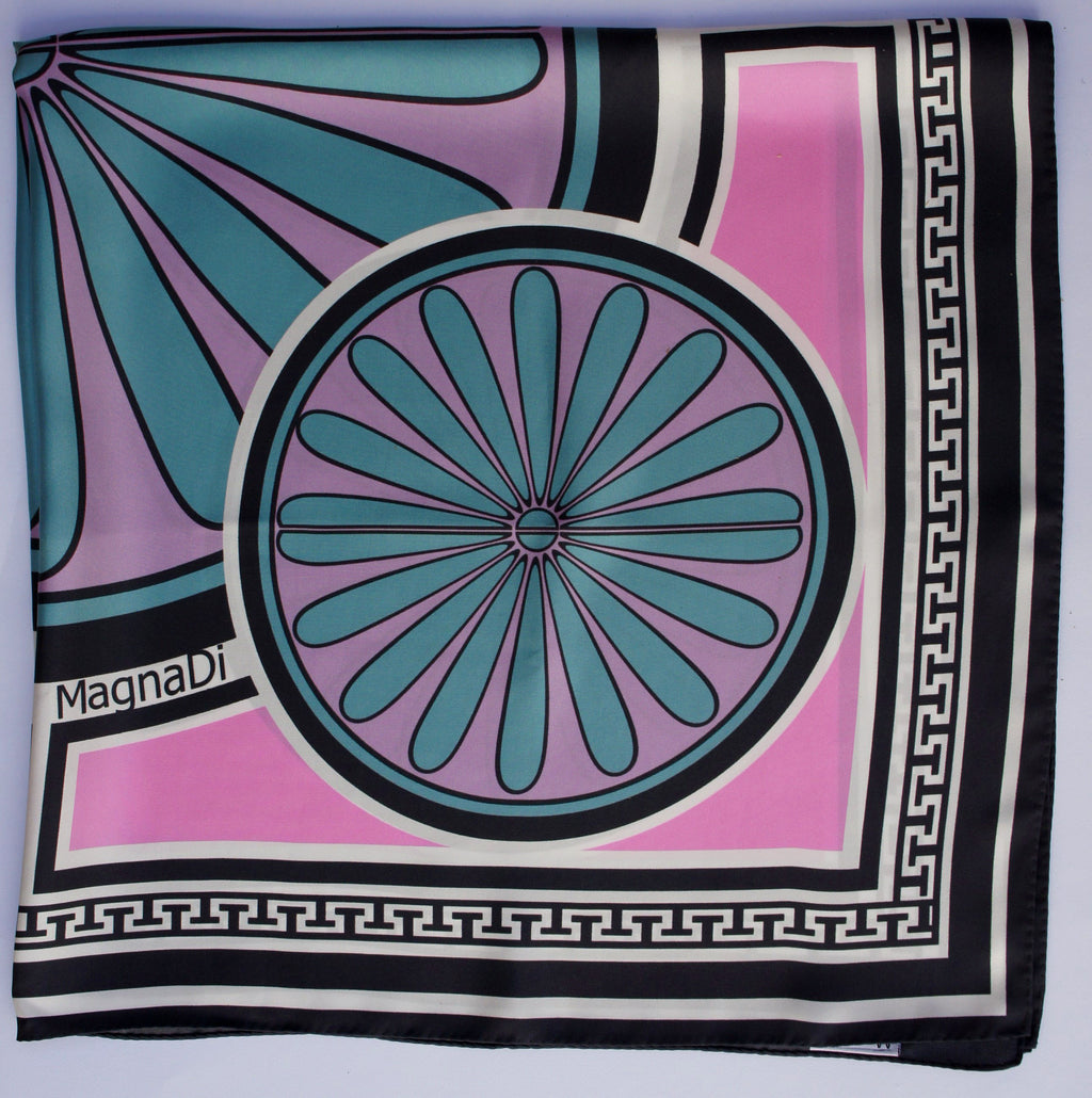 pink neon contemporary greek design made in greece magnadi scarves british vogue