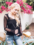 The Alissa Black Mesh Hoodie - Peskys Insect Repellent Apparel