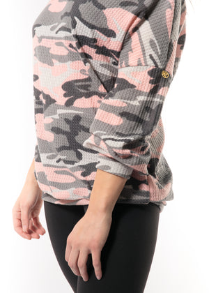 Pink Camo Top - Peskys Insect Repellent Clothing