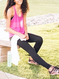 The Lexi Hot Pink Mesh Tank