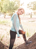 The Alissa Aqua Mesh Hoodie - Peskys Insect Repellent Apparel