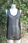 Black Mesh Tank - Mosquito Repellent Clothing - Peskys Insect Repellent Clothing