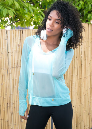 Aqua Mesh Hoodie Pullover - Insect Repellent Clothing - Peskys Insect Repellent Clothing
