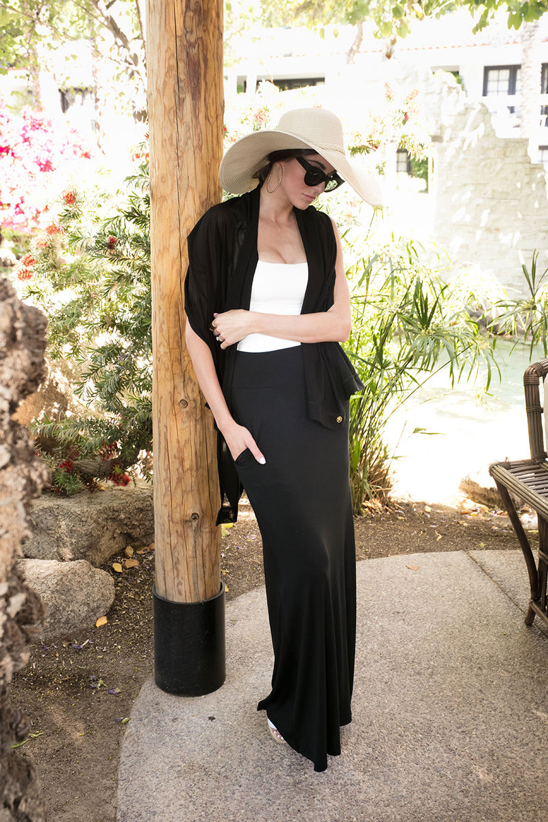 Pocketed Maxi Skirt - Peskys Insect Repellent Apparel