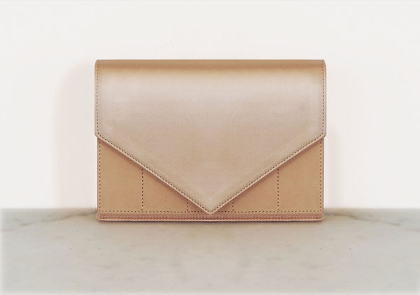 BOUSTINA  || Leather and Satin Mini Bag