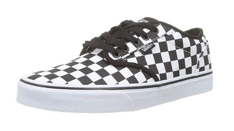 Vans Men's Atwood Trainers, (Checkerboard) Black/White
