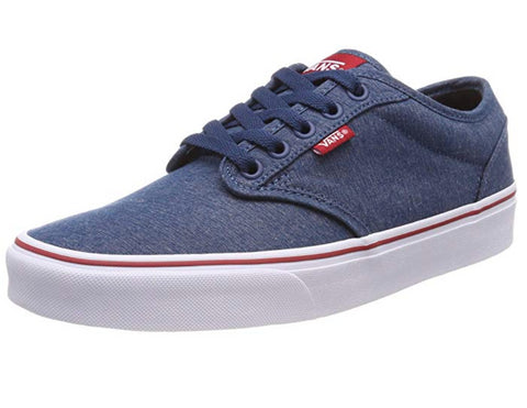 Vans Men's Atwood Trainers Multicolour ((Varsity Textile) Sailor Blue/Tango Red Vel