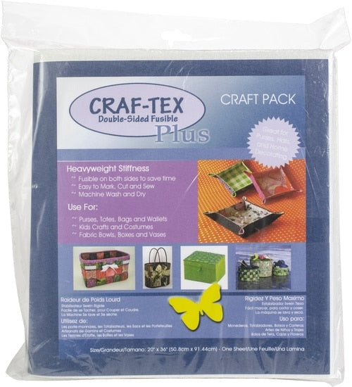 Bosal 437F-20 Double-side Fusible Craf-tex Plus 20in x 36in