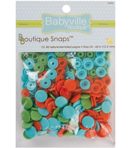 Babyville Boutique Snaps - Size 20 Playful Pond